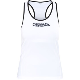 Profile Design ID Débardeur de triathlon Femme, white